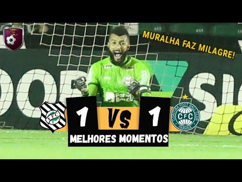 Figueirense 1 x 1 Coritiba - JOGÃO ! Melhores Momentos HD | Brasileirão Série B 08/11/2019