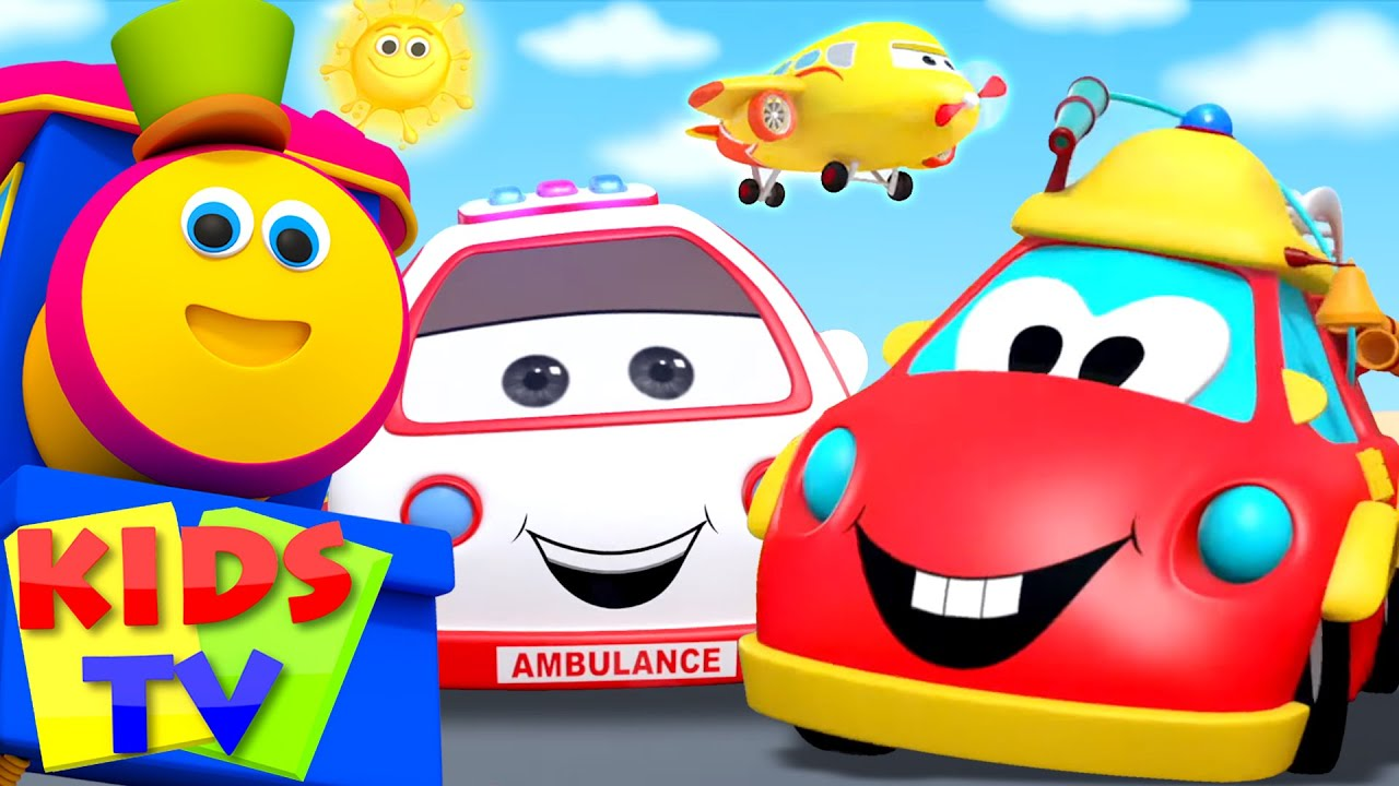 Transport Song | Learn Transport Vehicles | Nursery Rhymes & Baby Songs - Kids Tv
