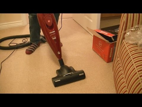 Hoover Junior Athyss Stick Vacuum Cleaner ST226F Unboxing & First Look