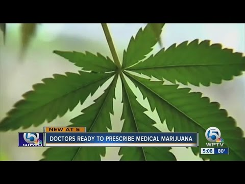 Doctors ready to prescribe medical marijuana