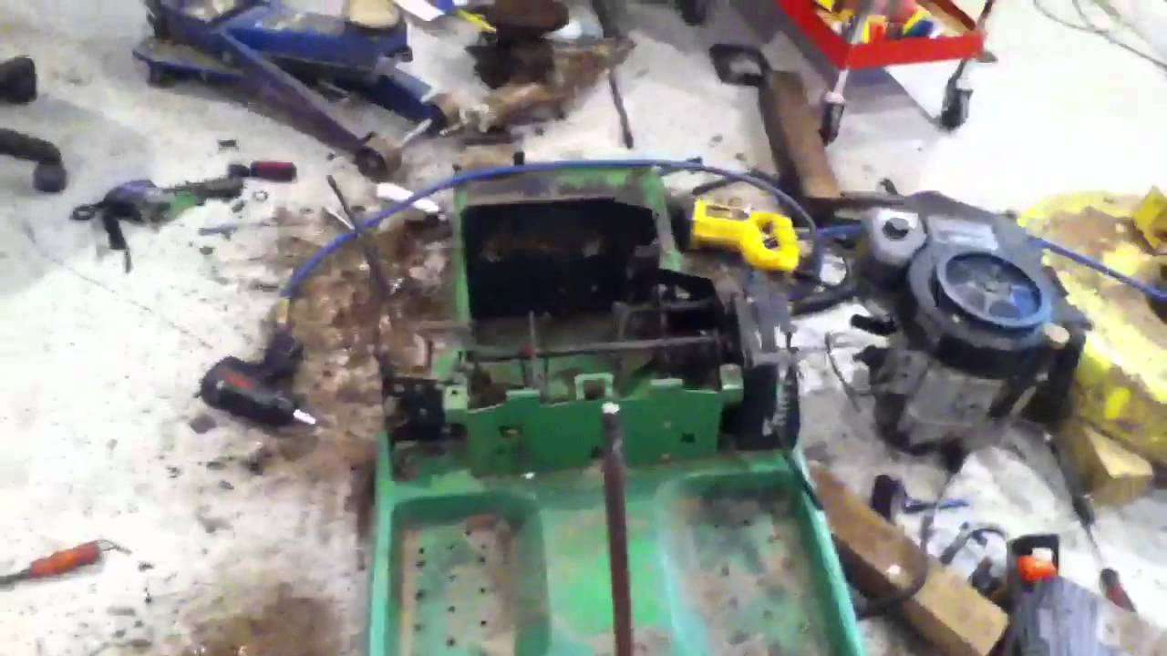 john deere rx75 strip down youtube rh youtube com John Deere SX85 Manual john deere gx85 wiring diagram