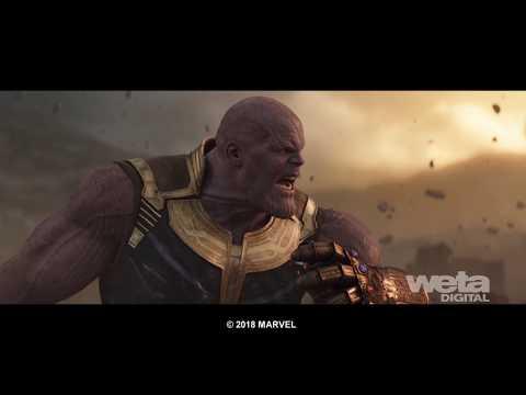 Avengers: Infinity War VFX | Breakdown - Compositing | Weta Digital