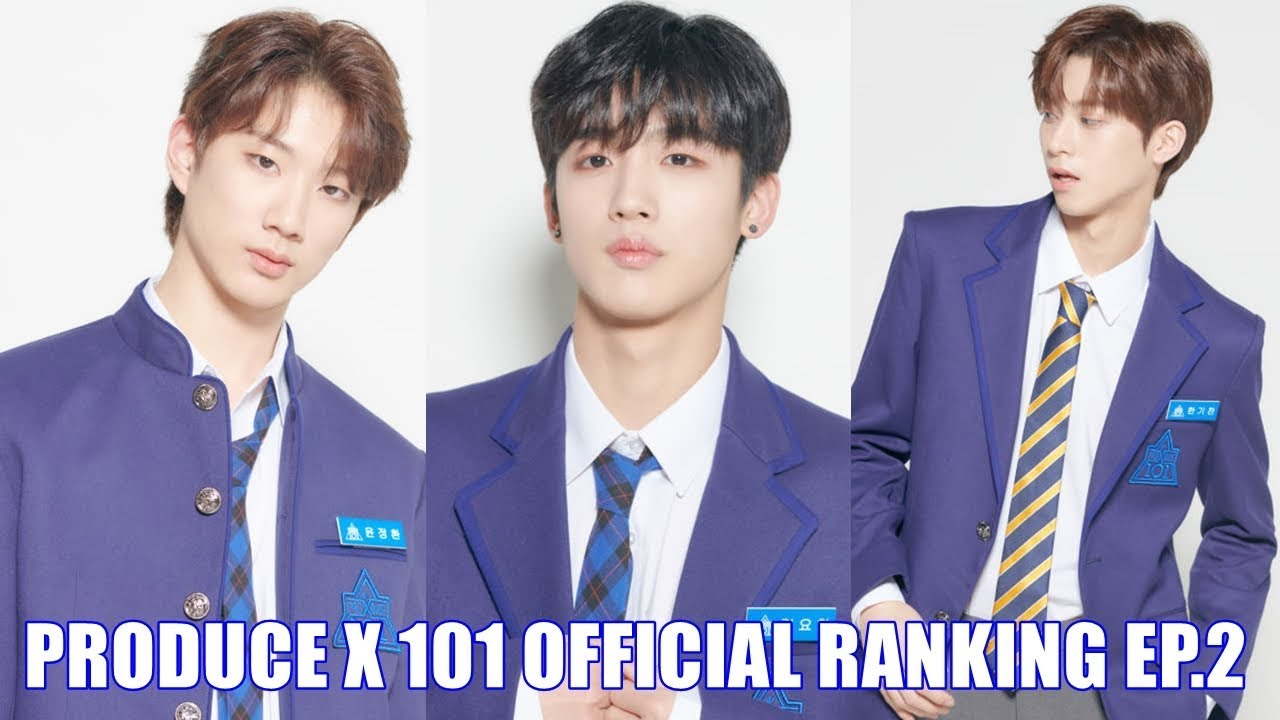 PRODUCE X 101 OFFICIAL RANKING EP 2 [TOP 20]