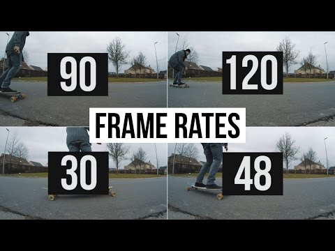 Frame Rates Explained ► GoPro Basics 101