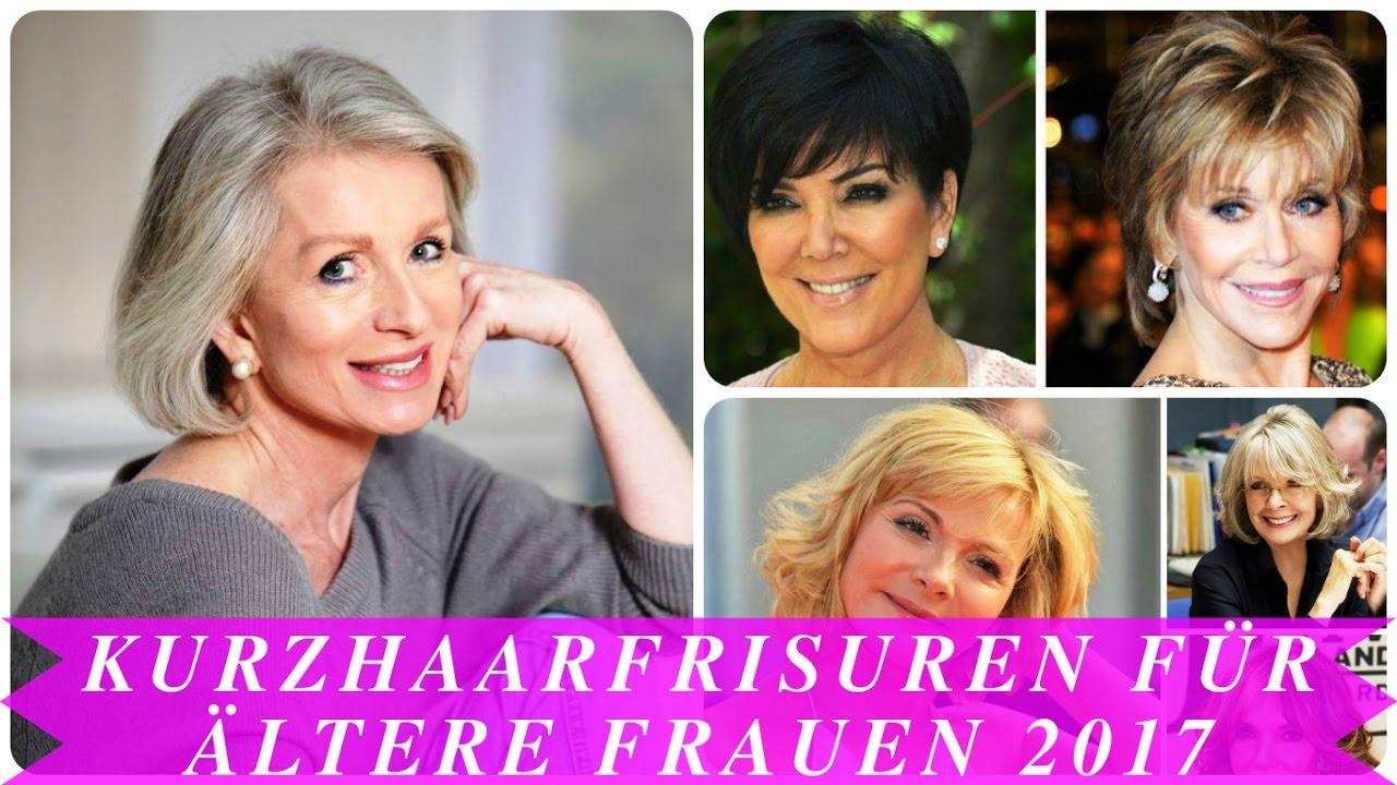 Frisuren Frauen Ab 60 Mit Brille Helle Haarfarbe 2019