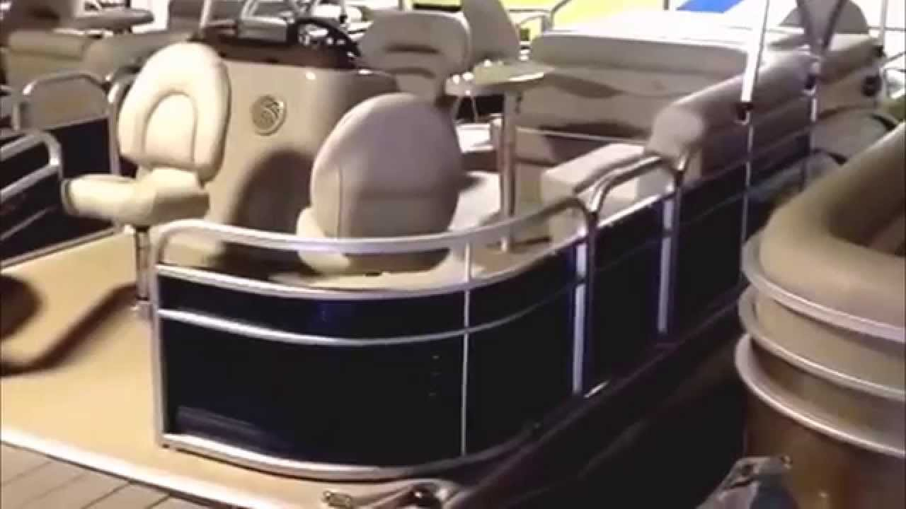 how to start and drive a pontoon boat