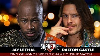 WWE 2K19 ROH Honor Reign Supreme 2019 Jay Lethal Vs Dalton Castle
