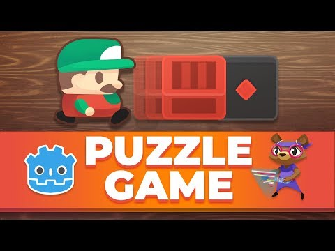 Code a Simple Puzzle Game in Godot: Box and Switch tutorial