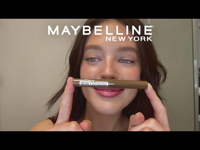 Tutorial: Bryn, som ser fyldigere ud | Maybelline Brow Extensions