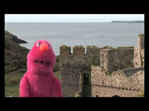 Quizzie Monster's Guide to Manorbier Castle, Pembrokeshire
