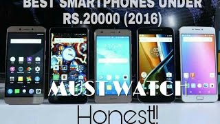 Best Phones Under Rs. 20000 For January 2017