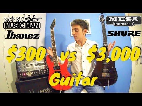 $300 vs $3000 Guitar Comparison. Ibanez vs Music Man