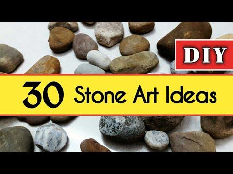 30 Easy Stone Art Ideas | DIY Stone Craft Ideas | DIY Rock Painting Craft Ideas | Stone Paintings