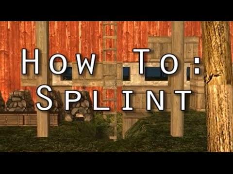 7 Days to Die - How To: Craft a Splint