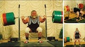 Валентин Дикуль 1170 кг (в сумме трёх движений)