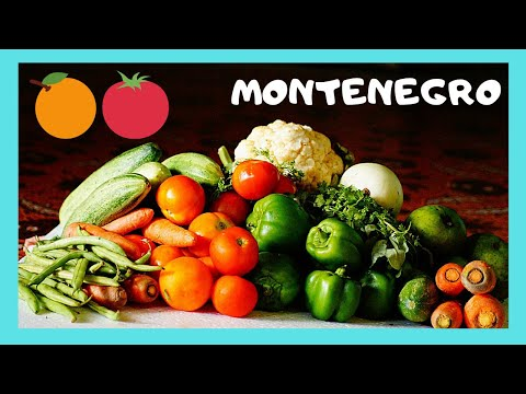 MONTENEGRO: The FRUIT and PRODUCE MARKET in PODGORICA
