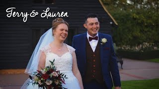 TERRY & LAUREN // The Old Kent Barn