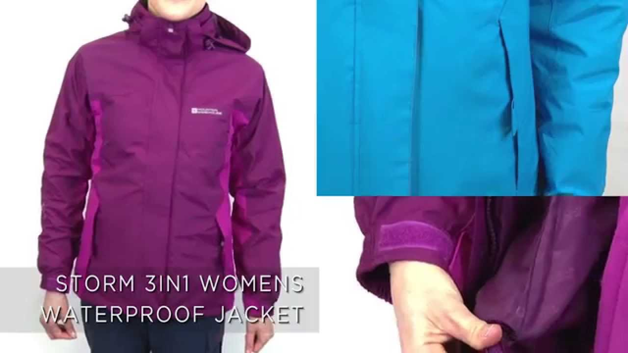 Storm 3 in 1 Womens Waterproof Jacket - YouTube 781c021a1