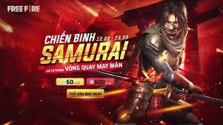 TRANG PHỤC: Chiến Binh Samurai (Vòng Quay May Mắn)