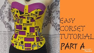 Cut and Sew a Corset/ Tube top…
