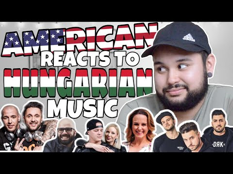 American REACTS // Hungarian Music