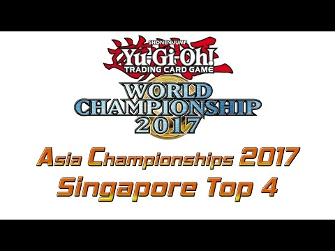 Yu-Gi-Oh! Asia Championships 2017 Singapore Summer Qualifiers Top 4 Feature Match [遊戯王 アジア大会2017]