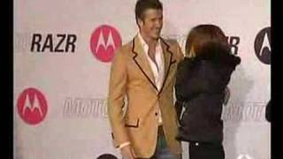 David Beckham de promoción en Japón.