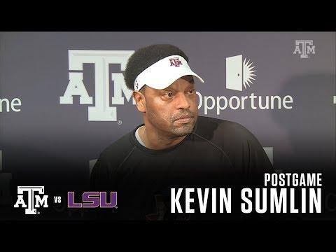 LSU Postgame | Kevin Sumlin 11.25.17