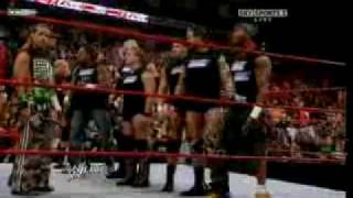 WWE RAW 19 10 09 Team Raw vs Smackdown Brawl Bragging Rights 2009.avi