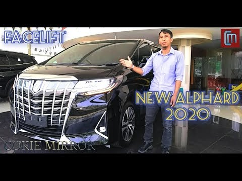 NEW ALPHARD 2020 FACELIFE [Review Mobil Sultan Toyota Alphard, super luxury]