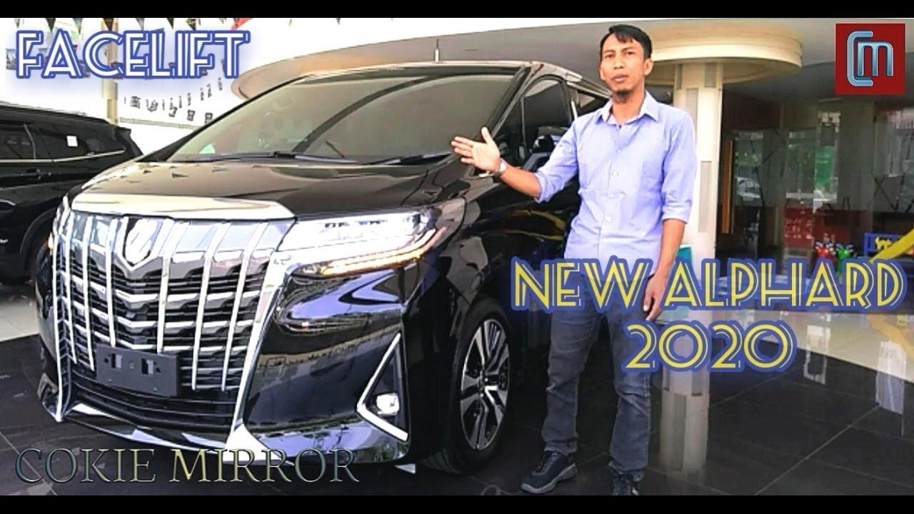 New Alphard 2020 Facelift Review Mobil Sultan Toyota Alphard Super Luxury Youtube
