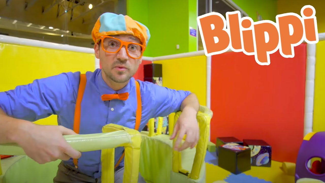 Learning At The Indoor Playground With Blippi | Kids TV Shows | Learning For Kids