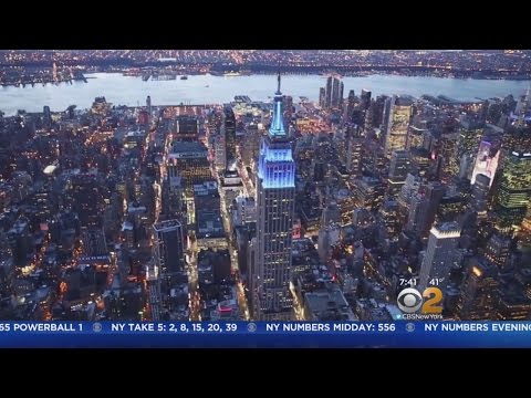 Landmarks Across The Globe Go Blue For World Autism Awareness Day