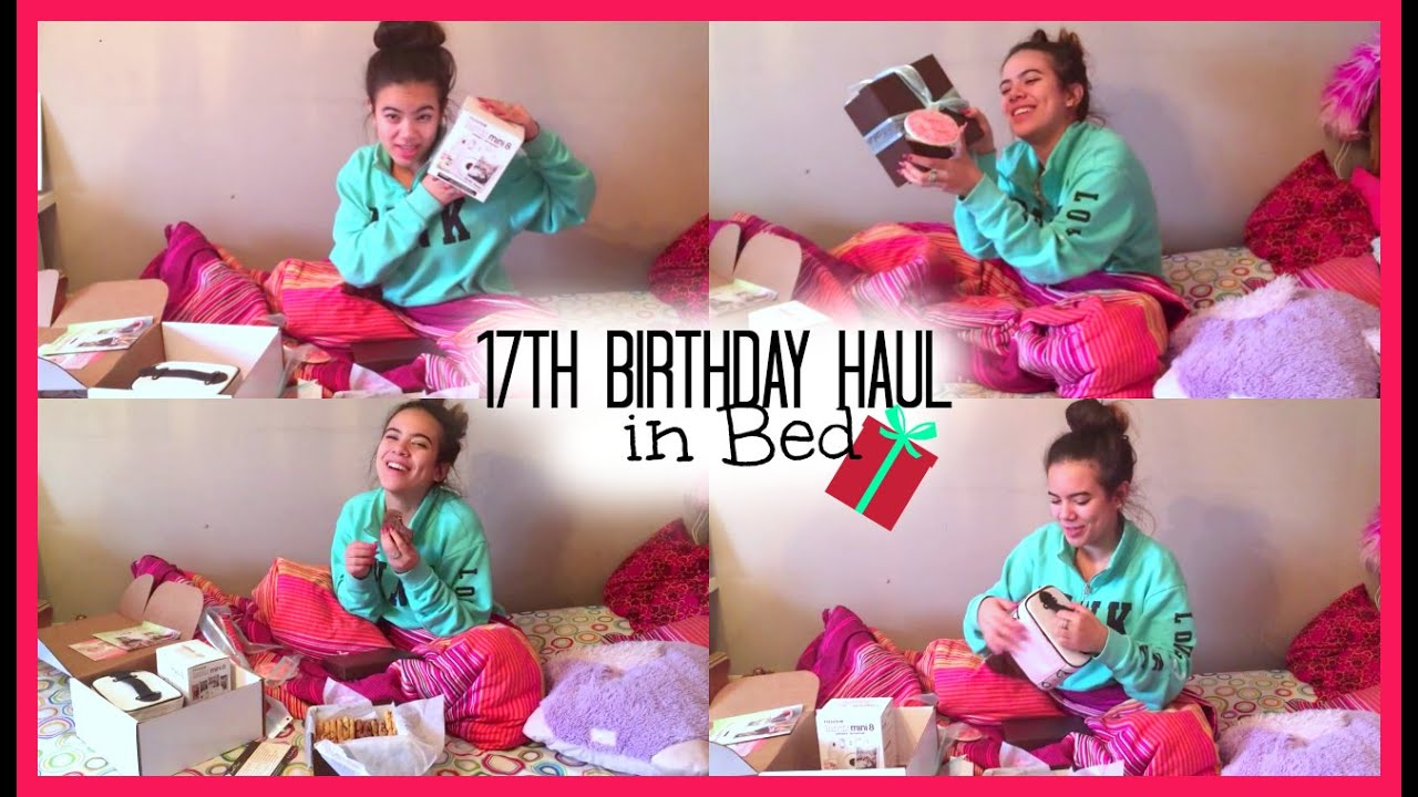 birthday haul 2015 what i got for my 17th birthday birthday part 2