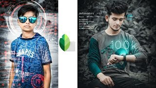 New Futuristic Photo Editing In Snapseed | Snapseed Photo Editing | Picsart Editing Master
