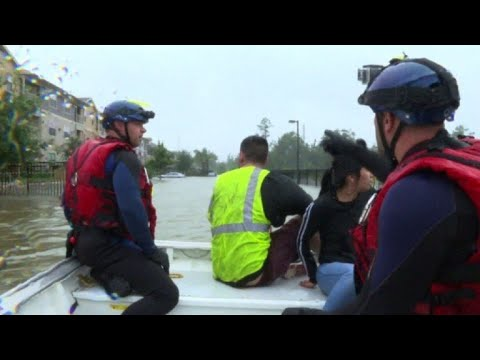 First responders from across Texas help in rescue effort