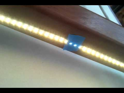 Led Light Strip Stair Hand Rail Lighting Youtube