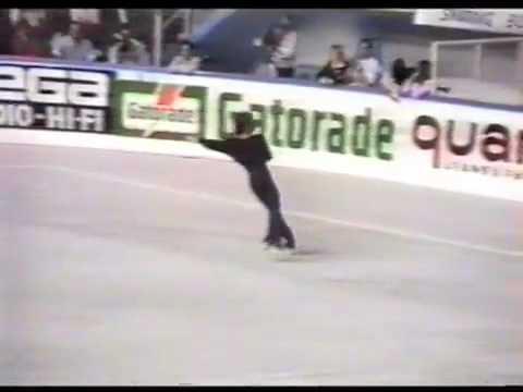 Sandro Guerra 1989 world roller skating championships Italy