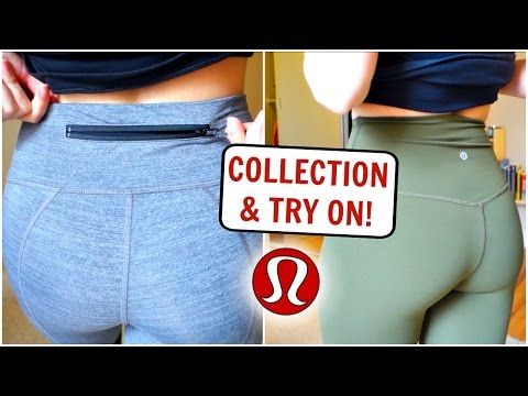 LULULEMON Collection! Past Employee Try On + Fabric Explanations