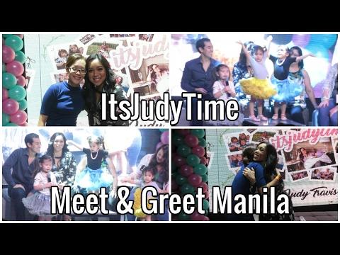 VLOG   ItsJudyTime Meet and Greet Manila thumbnail