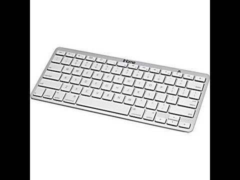 iHome Bluetooth Wireless Keyboard for iPad & Mac/MacBook