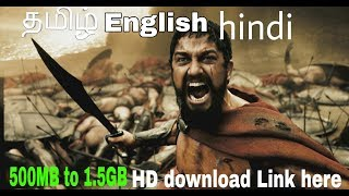 300 (2006) Tamil and multi language  Movie HD 720p Download & Watch Online links in discretion