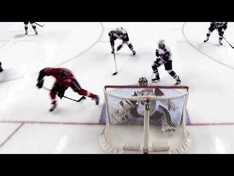 Gotta See It: Mark Jankowski goes between his legs to score off rebound