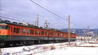 しなの鉄道115系S3編快速(2602M)