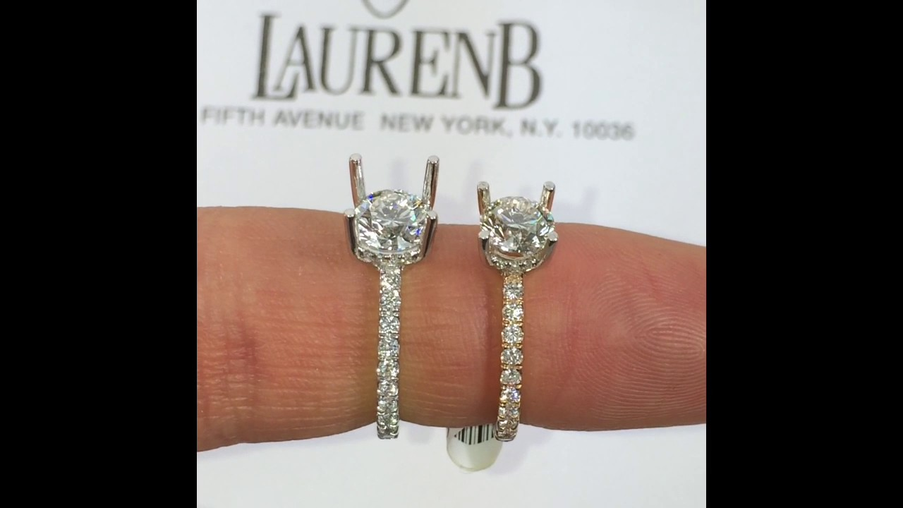 Comparing 0 90 And 1 00 Carat Round Diamonds Youtube