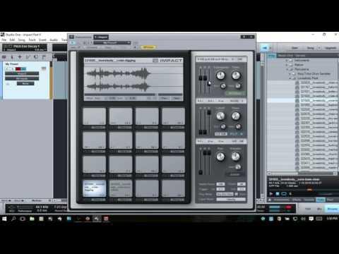 Learn Studio One    Impact Drum Sampler - In depth   Part II