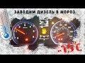 Запуск дизеля в мороз -15C ❆ Honda diesel CR-V