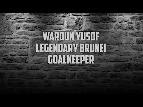 DPMM FC legendary goalkeeper : Wardun Yussof