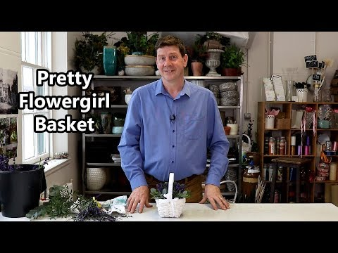 How To Make A Flower Girl Basket