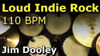 Loud Indie Rock Beat 110 BPM Drum Loops - JimDooley.net